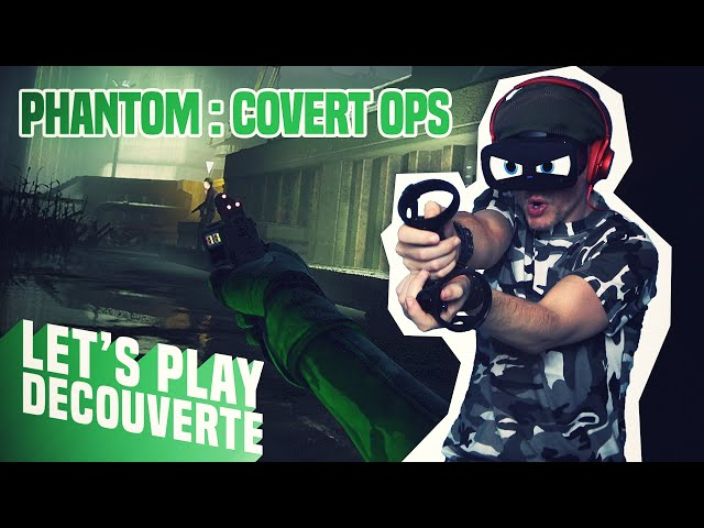 KAYAK SIMULATOR ! Phantom : Covert Ops - Let's Play Découverte (Oculus Rift S)