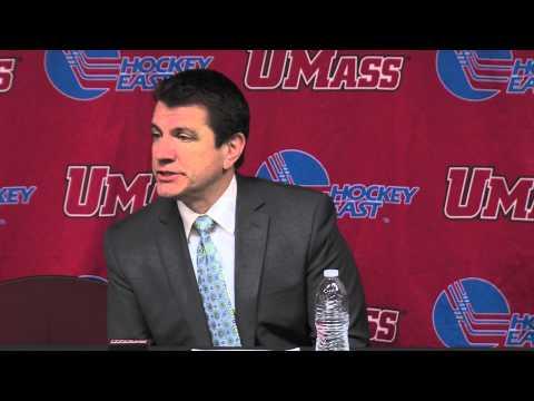 Hockey Postgame vs. UMass Lowell (2/13/15)