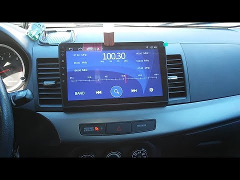 Step By Step   MITSUBISHI Lancer EVO X How To INSTALL A 10.2 Android RADIO + Steering Wheel Controls