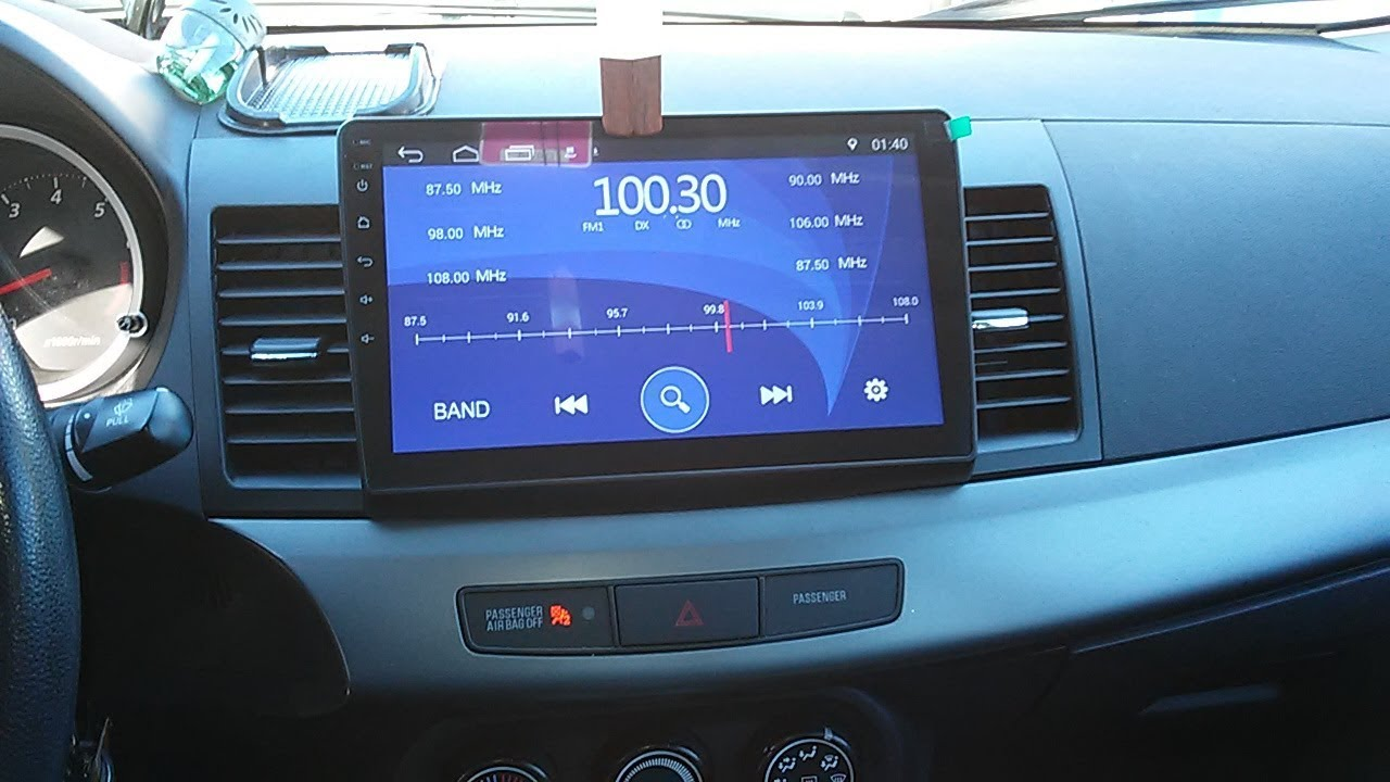 Step By Step MITSUBISHI lancer EVO X How To INSTALL A 10.2 android Nav Radio Wiring Diagram Evo X on