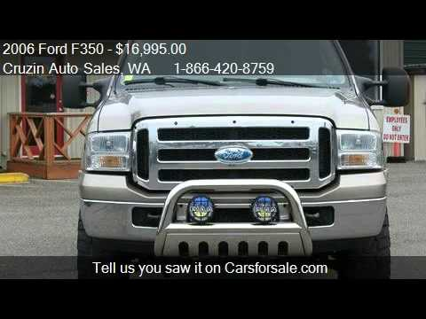 2006 Ford F350 Lariat Crew Cab 4WD - for sale in Tacoma, WA