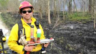 Demonstration of the Pyroshot for ignition of prescribed fires