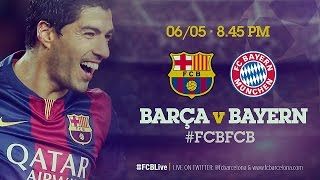 Camp nou is set to host a special event on wednesday 6 may at 8.45pm cet, as fc barcelona face perhaps their most important game of the season in first l...