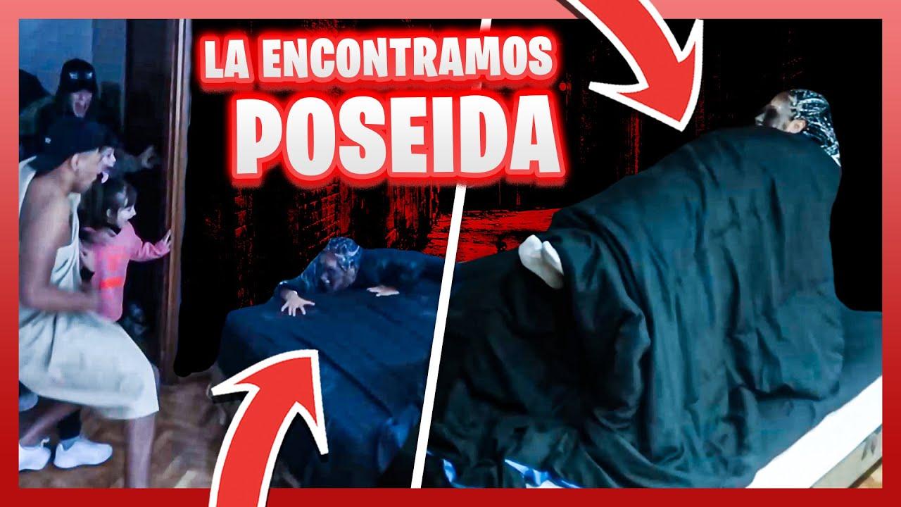 ¡ESTOY POSEÍDA! BROMA ÉPICA de MIEDO a mis AMIGOS de WIFI TEAM - Candela Diaz