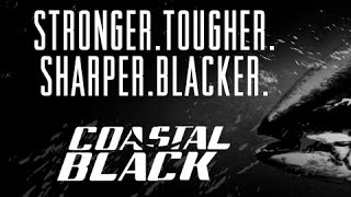 VMC COASTAL BLACK® - the ultimate finish for saltwater hooks