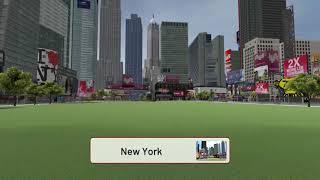 Sports Simulator   Cities Playable   New York