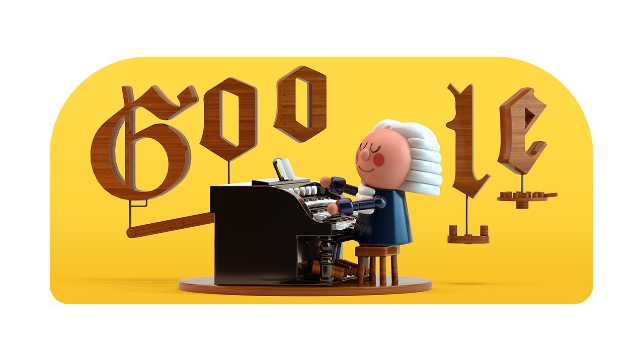 Image result for bach doodle