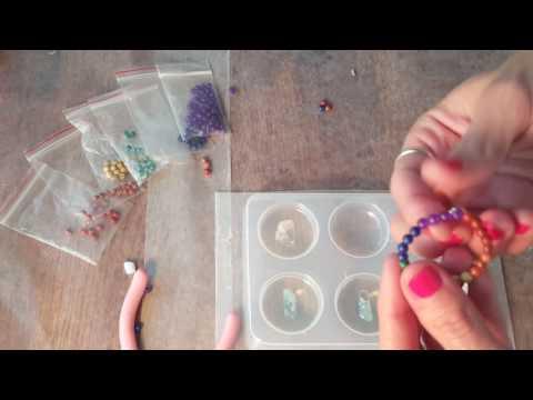 Tutorial: Stringing Beads For Your Orgone Resin Pendants