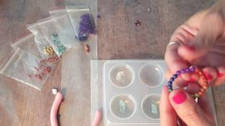 Tutorial: Stringing Beads For Your Orgone Resin Pendants