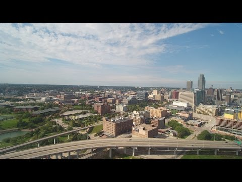 Downtown Omaha Nebraska - Sky Shutter Omaha Drone Photography