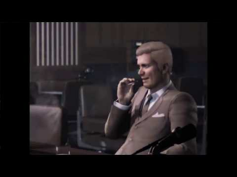 Mafia 3 - John Donnovan Interview with Select Comittee Full All Cutscenes