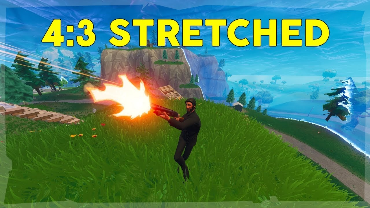 Stretched resolution for 1600x900 fortnite