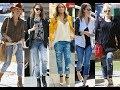 How celebrities wear boyfriend jeans for spring style