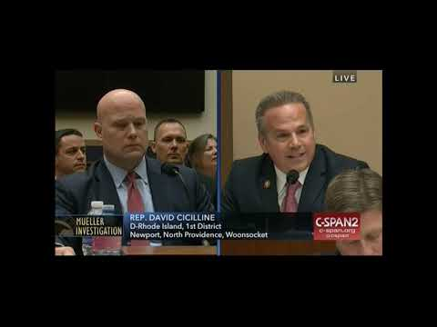 Rep. Cicilline does not have time for AG Whitaker's evasions