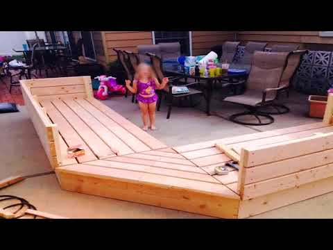 Wooden Outdoor Sectional Plans Gif Maker - DaddyGif.com