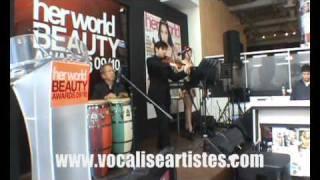 Vocalise Jazz Trio- Violin