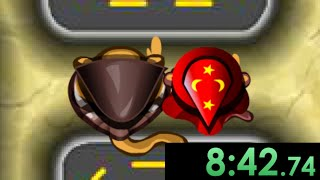 So I tried speedrunning Bloons Tower Defense 4 and created the perfect synergy