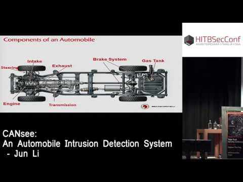 #HITB2016AMS D2T1 - CANsee: An Automobile Intrusion Detection System - Jun Li