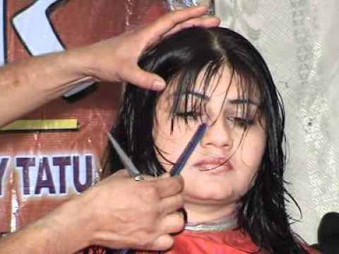 Increase layer Hair Cut Style Tanveer Habib Oleega Hair Beauty Saloon Patiala  Part 1