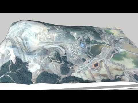 3D Topography And Mining Model