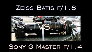 Why WIDE Matters- Sony G Master 85mm f/1.4 vs. Zeiss Batis f/1.8 w/ the A7Rii by Jason Lanier