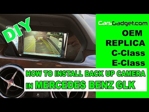 HOW TO INSTALL BACKUP CAMERA in Mercedes Benz GLK Aftermarket Rear View Camera for Mercedes [2018]