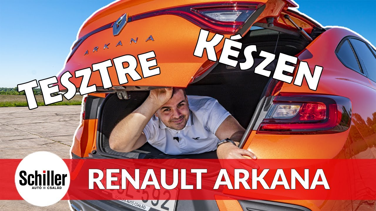 A hibrid SUV I Renault Arkana I Schiller TV I Tesztre készen #8