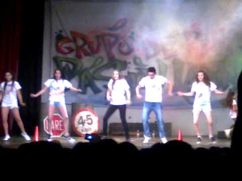 Grupo De Baile Pasión Latina Porf Camila Costa