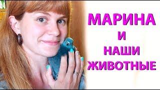 В гостях у Владислава и его животных. МАРИНА