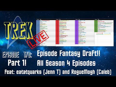 Download Trek Live 0170: TNG, DS9, VOY, ENT Season 4 Episode Fantasy Draft, Pt 1