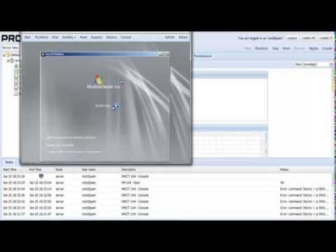 How to create a VM in Proxmox - Windows Server 2008 R2