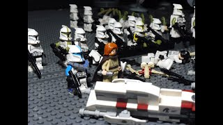 The Battle of Agamar LEGO Star Wars Stop Motion Clip HD
