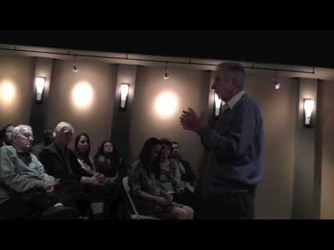 Tom Hayden introduces private showing of Documentary 'Who Bombed Judi Bari'
