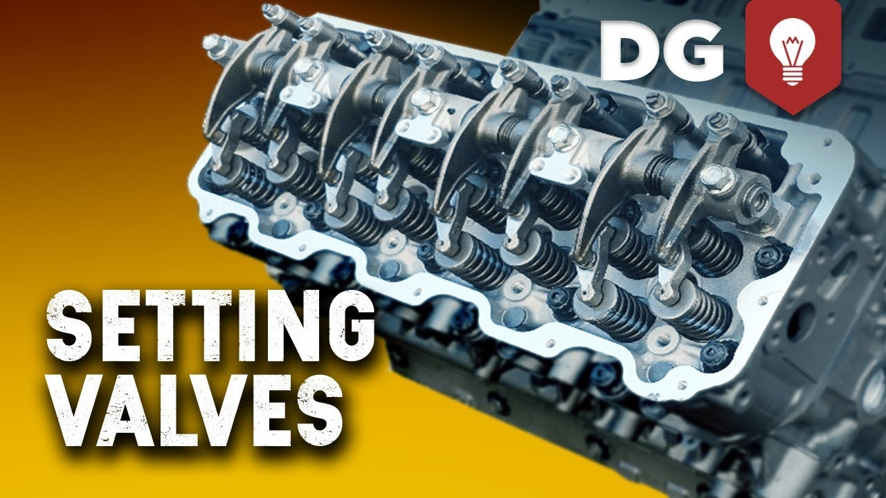 How To Set Valve Lash On A 6 6 Duramax Diesel Engine