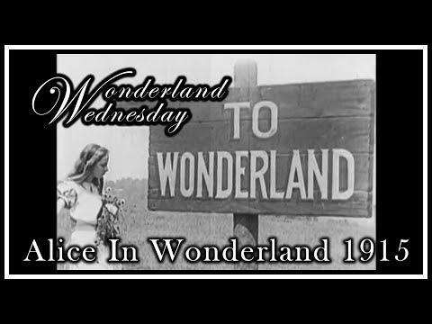 Wonderland Wednesday - Alice in Wonderland - 1915