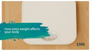 How extra weight affects your body