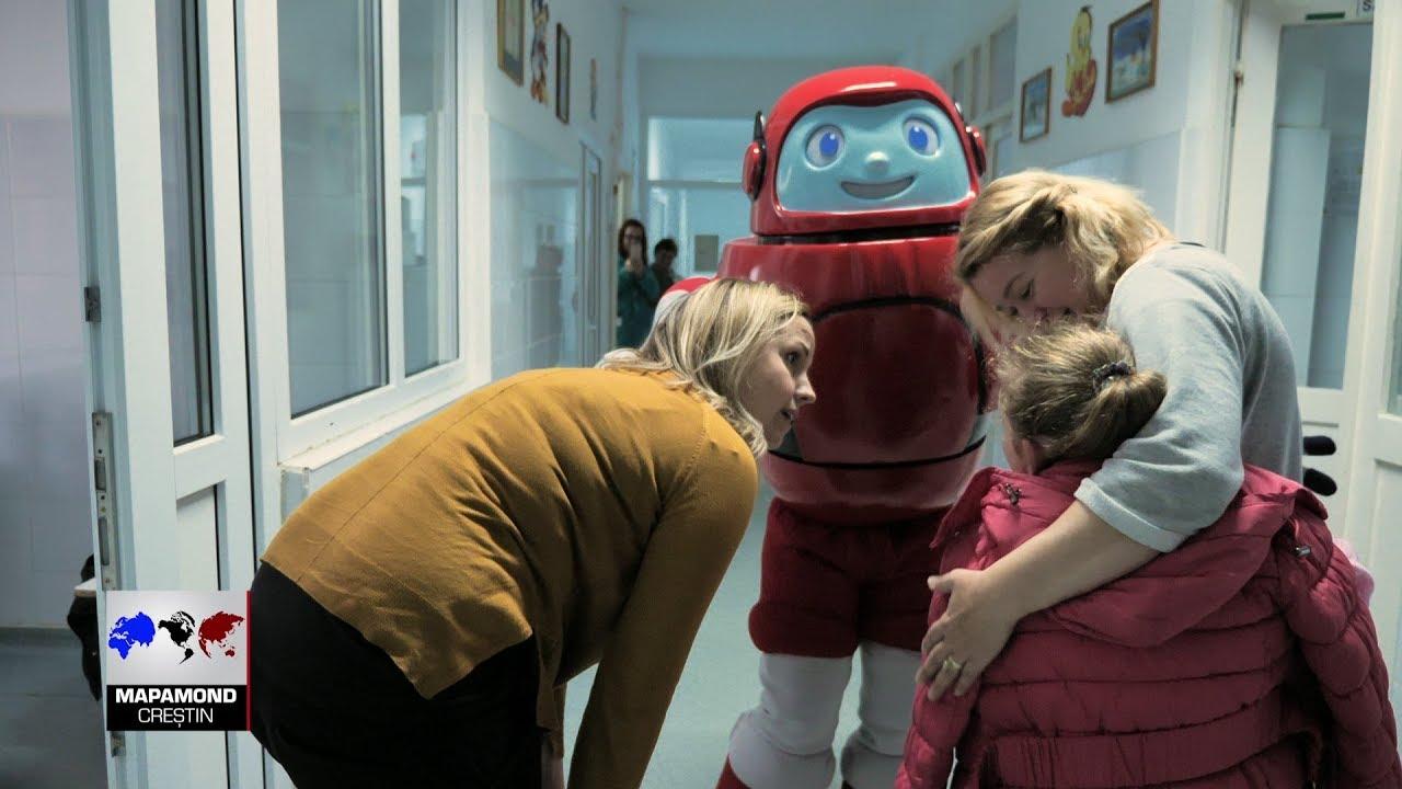 Cartea Cărților a cucerit inimile copiilor din Ocna Mureș și Memo merge la spital