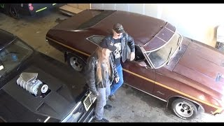 Mad Max Interceptor and XB GS Barn Find Ship