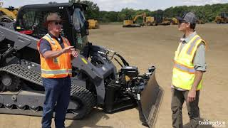 Caterpillar's Smart Dozer Attachment Puts Slope Assist on a Skid Steer.