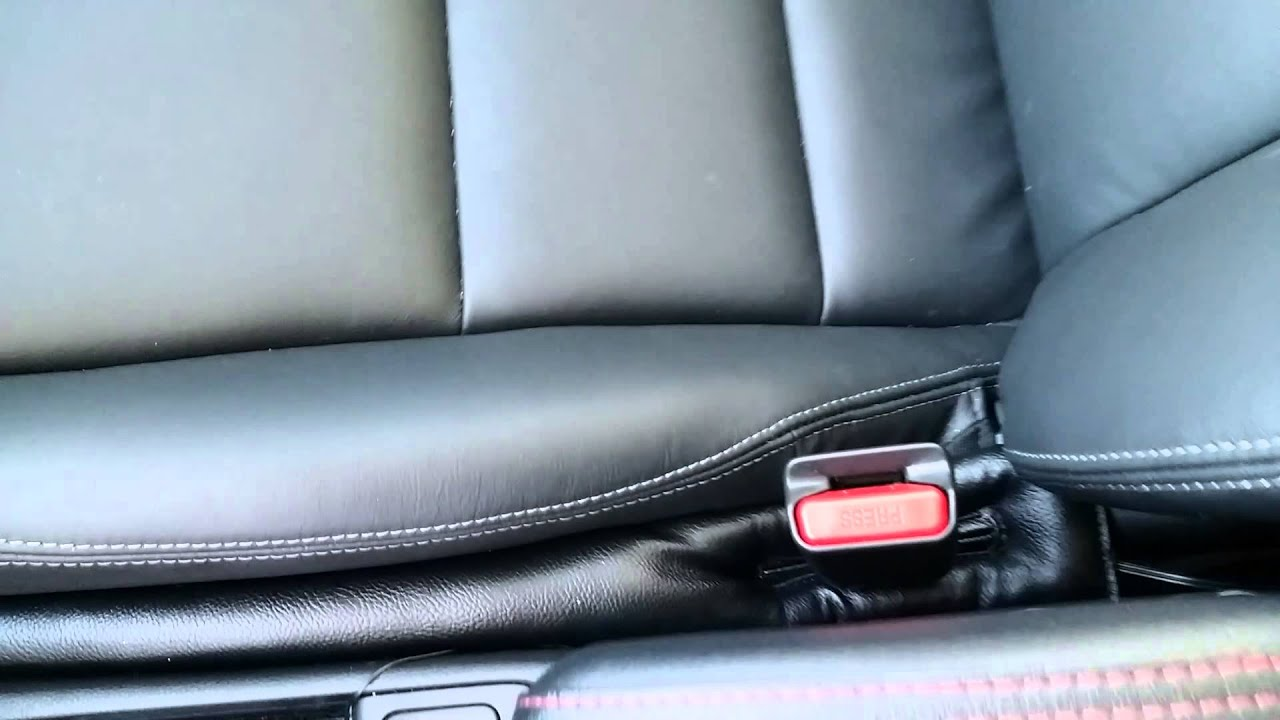 2015 Honda Fit Universal Leather Seats Installed