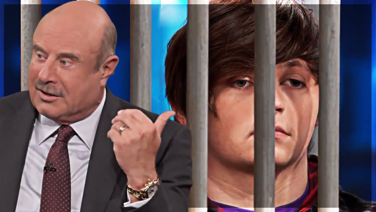 """Dr. Phil Makes """"Gangster"""" Teen Go To JAIL..."""