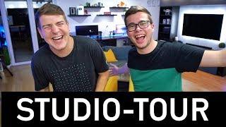 Unser YouTube-Studio nach einem Jahr! | ft. Felixba