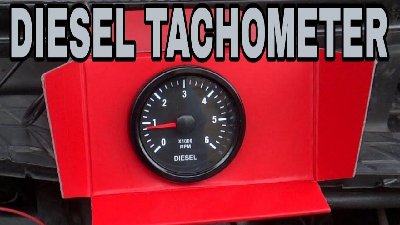 🚗 Tachometer Gauge for Diesel Motor Engine - VW Golf MK2