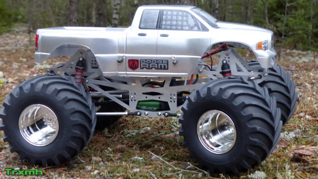 CPE Barbarian Solid Axle Monster Truck - Build & First Run