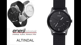 Lenovo Watch 9 Analog Smartwatch, Smartphone Tethering: Unboxing & Review and Setup / Smartwatch