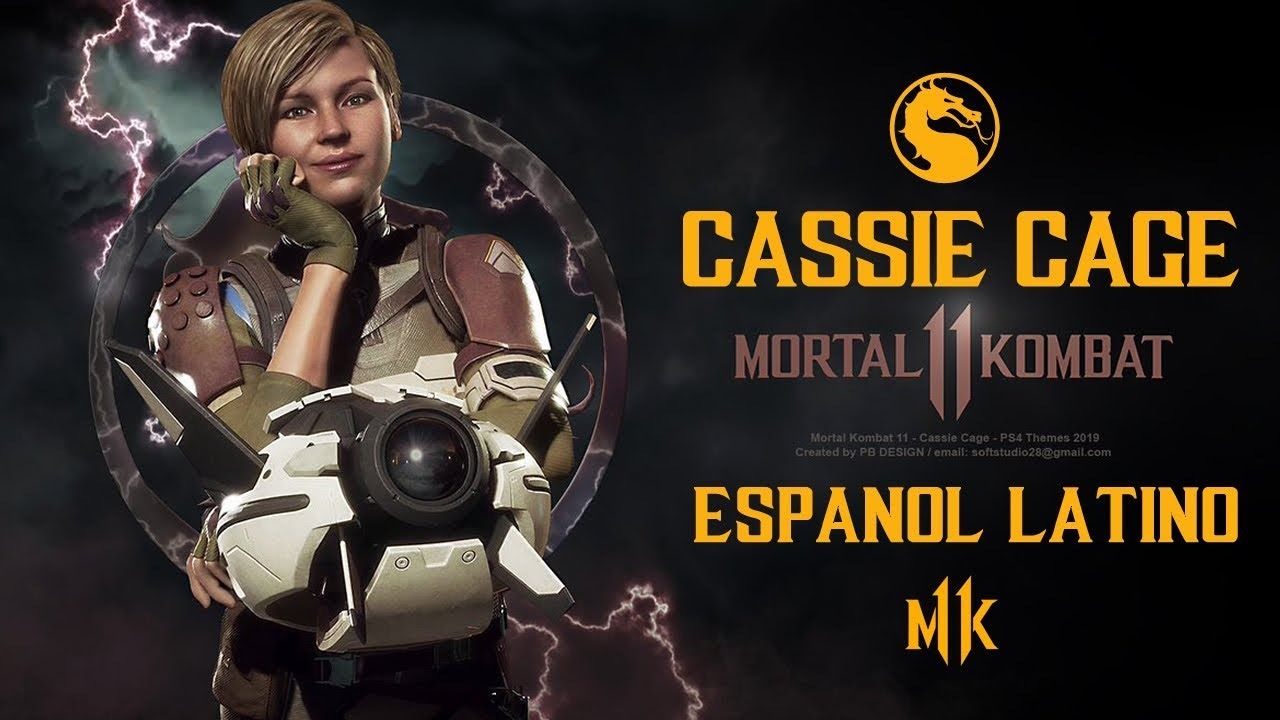 MORTAL KOMBAT 11 -  Cassie Cage Trailer Español Latino - MK11
