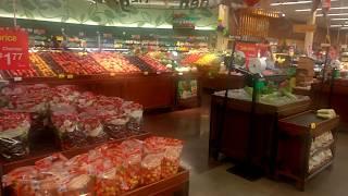 США.Юта. Продуктовый магазин Обзор продуктов питания для вегетарианцев.