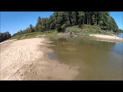 Fishing Big Creek to the Wabash River