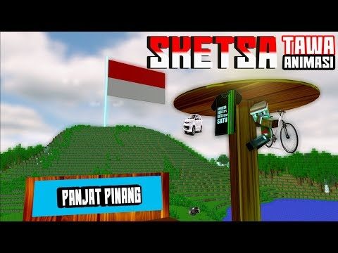 PANJAT PINANG! Sketsa tawa Kemerdekaan RI 4Brother Ft.Anited (Animasi Minecraft Indonesia)