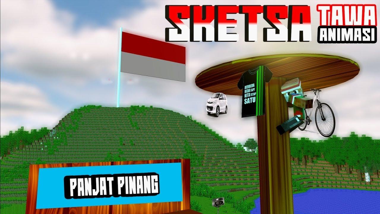 PANJAT PINANG Sketsa Tawa Kemerdekaan RI 4Brother Ft Anited Animasi Minecraft Indonesia